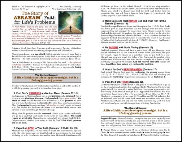 Adventure Through the Old Testament